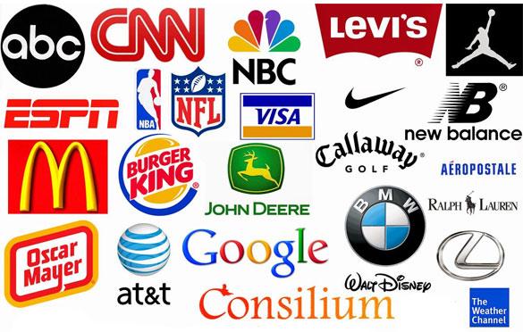 برخی از لوگوهای معروف جهانی