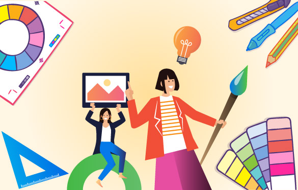 ایدههای خلاقانه برای طراحی بروشور