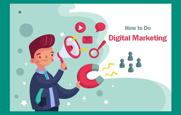 چگونه میتوان بازاریابی دیجیتال انجام داد