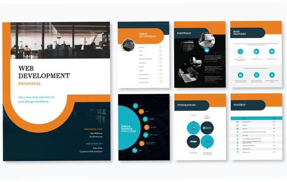 قالب پیشنهادی توسعه وب سایت